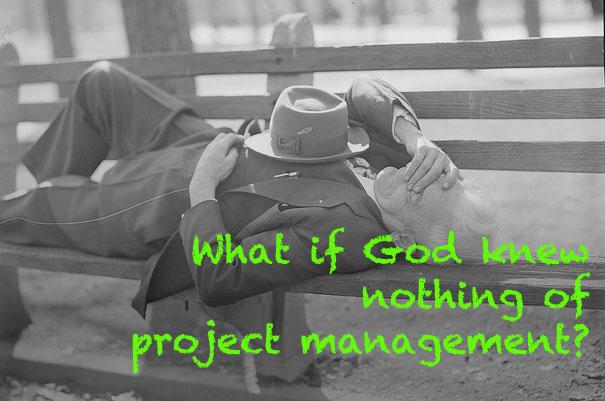 God knew nothing