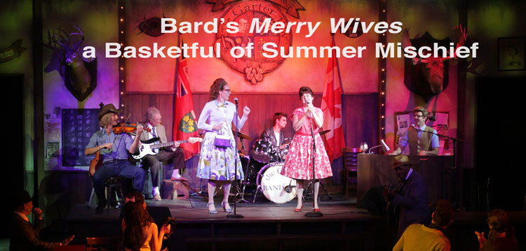 Bard's Merry Wives a Basketful of Summer Mischief